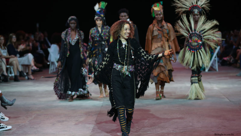 Salima Abdel -Wahab at CAPE TOWN FASHION WEEK